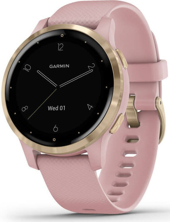 Garmin VívoActive4S Light Gold/Pink 010-02172-33