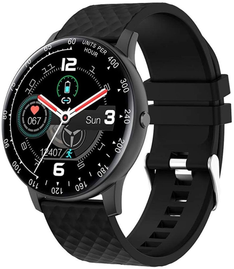 Wotchi W03BK Smartwatch - Black - SLEVA