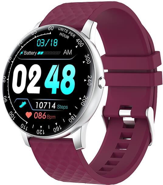Wotchi W03PE Smartwatch - Purple - SLEVA
